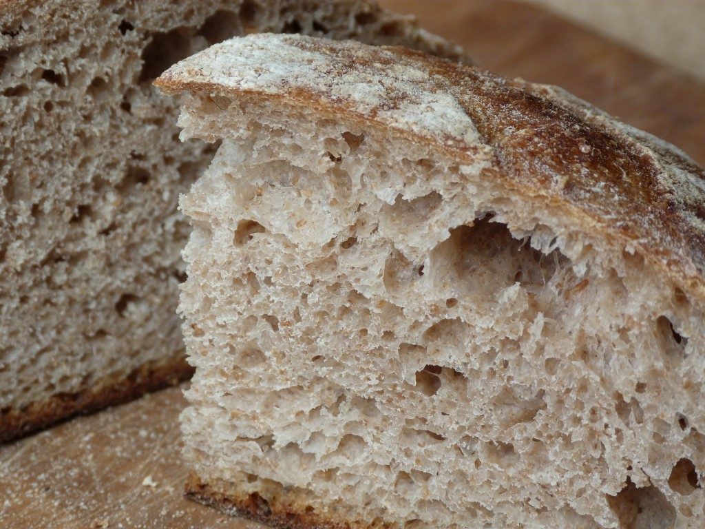 One of Martin's tasty sourdough loaves.