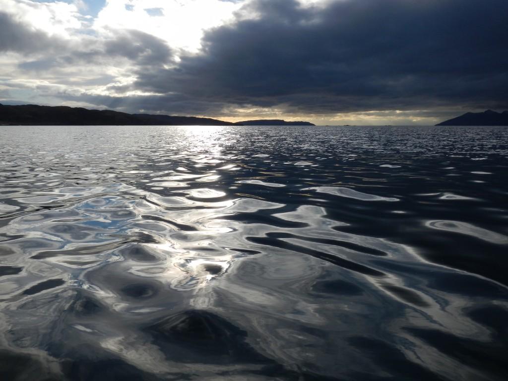 Winter sea, Isle of Skye