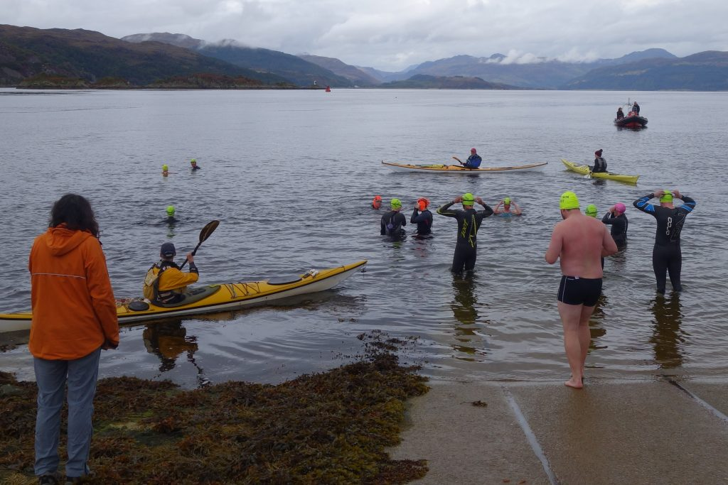 Skye open water swim