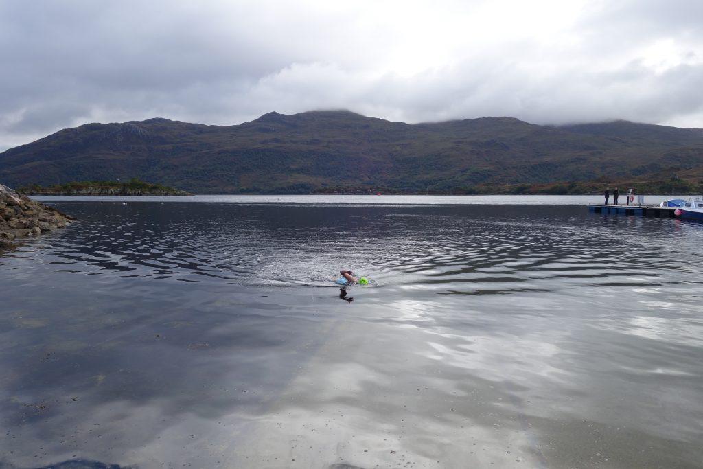 Skye open water swim